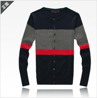 2013 spring sweater male sweater cardigan male slim sweater outerwear male fashion sweater