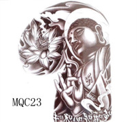 Waterproof tattoo sticker female Men lotus tattoo stickers mqc23