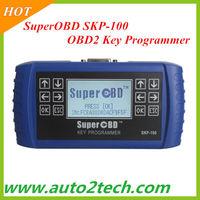 Hot Sale! SKP-100 OBD2 Key Programmer SKP100 SuperOBD SKP-100 Hand-Held high quality Free shipping