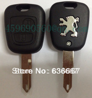 free shipping KL15 New 2 Buttons Remote Key  Shell for Peugeot 206 205 305 106 405