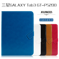 XUNDD Brand Business Style Book Cover For Samsung Galaxy Tab 3 10 1 Tablet P5200 P5210 Top Quality Leather Case Magnetic Covers