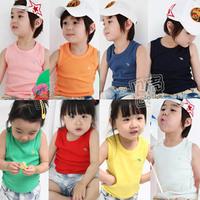2013 summer boys clothing girls clothing baby child T-shirt sleeveless vest tx-0914