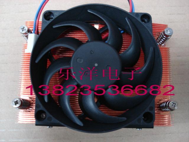 AMD AM2 AM3 940 1U server heatsink copper heatsink is blowing 7CM(China (Mainland))