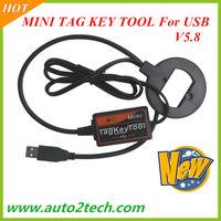 New MINI TAG KEY TOOL For USB V5.8 high quality Smart TAG KEY TOOL Free shipping