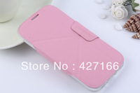 For Samsung I9500 Galaxy S IV S4 Folded Mount Protective Case S4 Transform Shell Phone Case