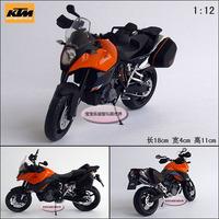 Ktm 990 off-road strollers orange-black rear suspension motorbike alloy motorcycle model free air mail