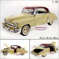 1:18 MOTORMAX 1950 CHEVROLET  Bel Alr webworm exquisite alloy car model