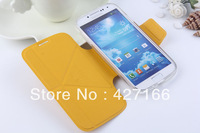 10PCS/Lot Fashion Multifuntion Stand PU Leather Case Flip Transformation TPU Back Cover For Samsung Galaxy S4 I9500