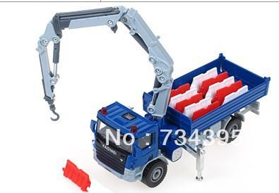 Classic Toys Kaidi Wei 1:50 alloy construction vehicles dump truck crane truck wrecker die cast simulation car toys for children(China (Mainland))