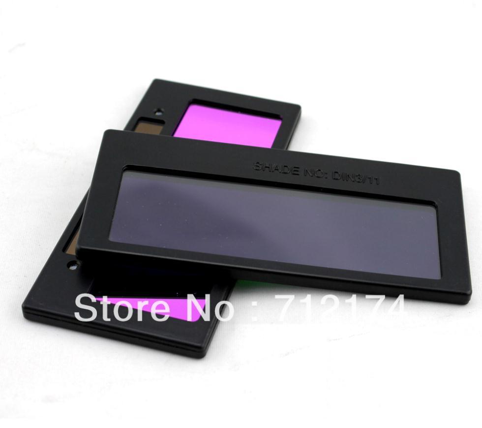 5pcs/lot UV/IP Protection Solar Auto Darkening Welding Lens Filter F ARC/MIG/MAG(CO2)/TIG(China (Mainland))