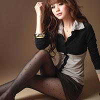 2013 autumn women's T-shirts Cute Slim basic shirts long-sleeve tops for woman lady Sexy Tees Female T Shirts J0603