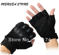 5Pair/lot! Wholesale Military gloves Fans Tactical gloves army Half Finger gloves wearable free shipping