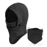 Hot Sale Thermal Fleece Balaclava Hood Police Swat Ski Bike Wind Winter Stopper Face Mask  0135