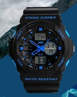 Dual display watches,male outside hiking sport multifunctional electronic watches,sport watch,army watch for men brand watches