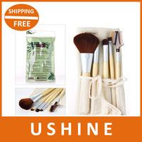 2013 Christmas gift, High quality cosplay Professional 5 pcs makeup brush Set free shipping