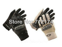 Free Shipping, Motorcycle Tactical Gloves,Army Full Finger Airsoft Combat Tactical Gloves (Black,Sand)
