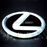 LEXUS CT200h RX450h LS270 logo light 4D led rear Emblems lighting  LED light, led logo Car Stickercar badge car Emblems