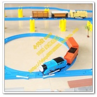 Electric double jackknifed electric thomas train track toy educational toys