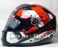 Newest genuine LS2 FF 358 helmet motorbike helmet Full face Motorcycle Helme top quality brand free shipping DOT ECE