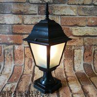 Column lamp post fashion outdoor wall light waterproof lamp garden lights lamp fence light