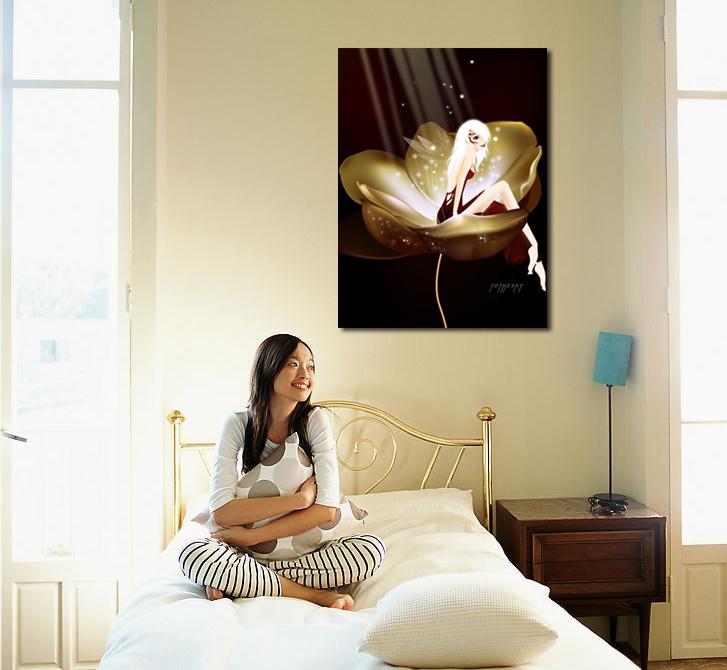 Abstracte kunst engel koop goedkope abstracte kunst engel loten van chinese abstracte kunst - Deco schilderij slaapkamer kind ...