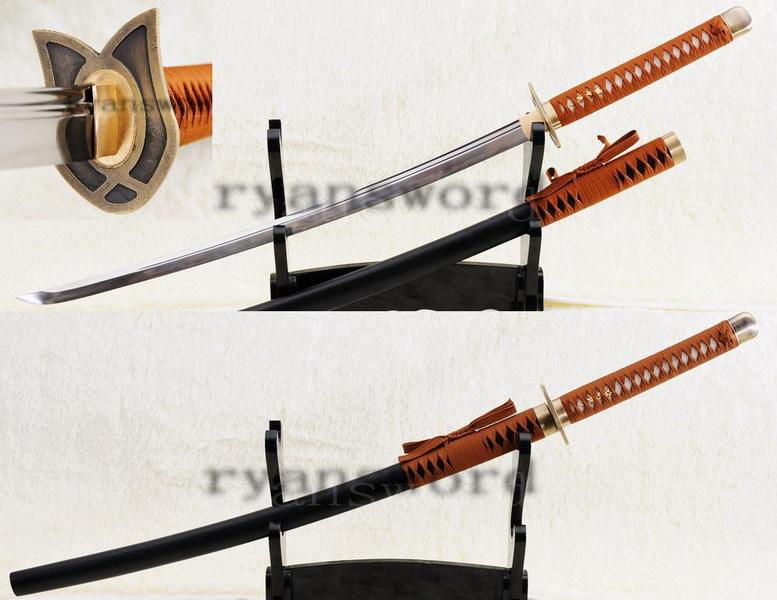 (bleach)sword--traditional handmade haineko replica in the anime bleach Japanese sword katana samurai(China (Mainland))