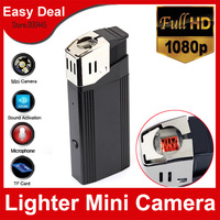 Full HD 1080P Hidden Lighter Camera With 1920X1080 Flashlight TF Card Slot Mini DVR Free Shipping