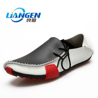 Trend sailing shoes male fashion daily casual shoes Moccasins genuine leather single shoes lazy all-match shoes