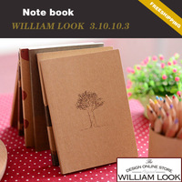 Min.order is $25 (mix order) stationery Retro books pastels notebook diary book notepad promotion gift william JP310103