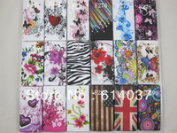 1pc New Flower soft tpu Back Case Cover For Xperia P LT22i,free shipping high quality