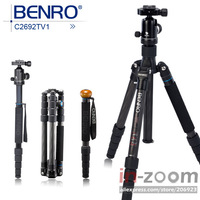 New Benro C2692TV1 Carbon Tripod Monopod Travel Angel Kit *Free shipping