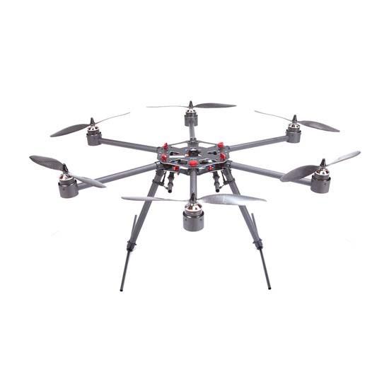 Flycker-MH650-Hexacopter-frame-kit-carbo