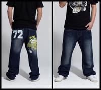 Fashion Casual Jeans 2014 New designer Famous Brand Mens Jeans men Jeans Pants Black Straight Jeans plus size:30~44