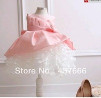 free shipping New girls clothing beautiful Princess dress girls lace dress New Year's clothes dresses
