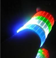 2014 new style free shipping 100pcs/lot led bracelet flashing bracelet well for christmas
