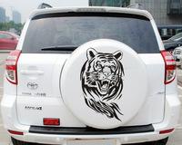 Tiger Car Stickers for Hood, Spare Tire Wheel Decal for RAV4, CRV, Q5, Q7, Tiguan, Touareg, SUV