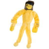 Free Shipping Slingshot Flingshot Flying Screaming Duck Toy - Yellow