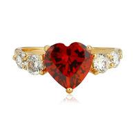 Кольцо Jewelora #CR0734 & CZ
