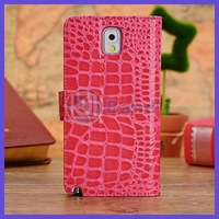 For Samsung Galaxy Note 3 N9000 Croco Flip Leather Case Stand Cover