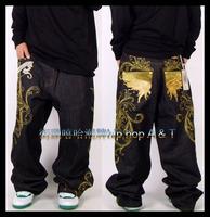 2014 hot high quality hip hop dance sport fashion casual men's jeans 100% original famous brand jeans men,trousers pants jeans