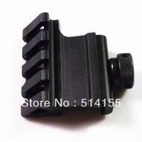 New High-Grade 45Angle  flashlight rail mounting Rail Bracket  21mm Adapter  Picatinny Rail scope mounthunting free shipping
