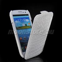 Crocodile Flip leather Handmade protective case phone for Samsung Galaxy S3 SIII i9300 free shipping 01