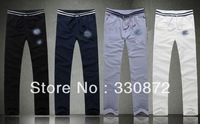 Free Shipping 2013 Fashion Winter Men Full Length Pants Knitted Casual Popular