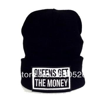 12pcs/lot GUEENS GET THE MONEY   Beanie  GUEENS GET THE MONEY    Cap Classic Beanie   bulk order more discount