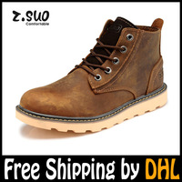 Brand designer Motorcyle Boots for men 2013 New fashion outdoor western brown boots men combat military shoes Size(39-44) NWT-06