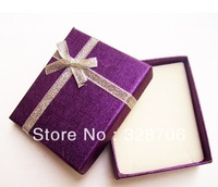 Wholesale - Hot Promotion ! 24pcs/lot Mini Assorted Color Jewelry Ring Box 6.5cm*7.9cm*2.2cm Jewelry Packaging Gift Case   LW076