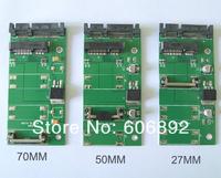 "Free Shopping 70mm mSATA mini SATA SSD to 2.5"" 7+15Pin SATA Converter Adapter mSATA-SATA Card"