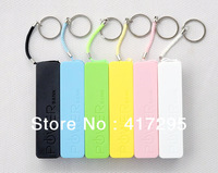 Retail Box 100pcs Perfume Smelling 2600mAH Power bank Portable Battery Charger for iPhone /Samsung /Nokia /HTC / iPad