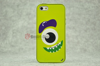 1pcs, One Eye Monster With Retail packing, PC+TPU Skin Cover Case for iphone 5/5S, Best for iphone 5 Case, New Look