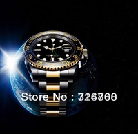 christmas gifts Top Quality Brand New Luxury FREE Shipping Automatic Mechanical 2013 Men Wristwatch stainless steel Sport Watch